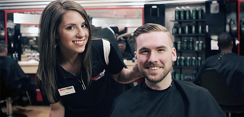 Sport Clips Haircuts of Monument​ stylist hair cut